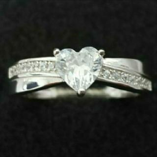 SWAROVSKI - f32❇️ジョリージョーカー❇️純銀製ダイヤモンドキュービックジルコニア リング