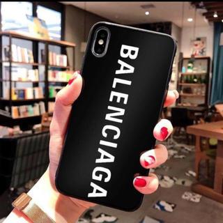 Balenciaga - 超人気のiPhoneX/XS対応ケース ブラック