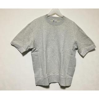 ユニクロ(UNIQLO)のUniqlo U ユニクロユー メンズ 半袖スウェット(Tシャツ/カットソー(半袖/袖なし))