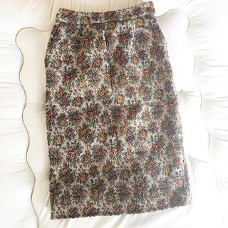 Lily Brown - ゴブラン柄 タイトスカート