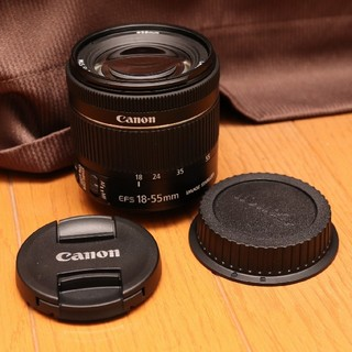 Canon - 美品 キヤノン EF-S18-55mm F4-5.6 IS STM レンズ