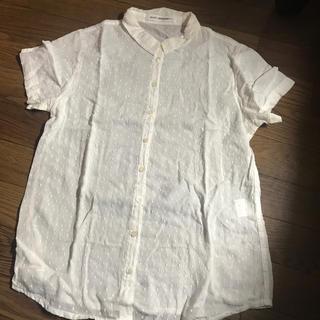 ビーエルユーイー(B.L.U.E.)のBLUE 白ドットTシャツ(Tシャツ(半袖/袖なし))