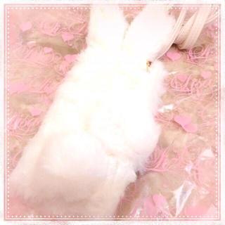8b888581b7 リズリサ(LIZ LISA)のリズリサ♡うさぎファーiPhoneケース(モバイルケース/