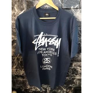ステューシー(STUSSY)の☆ 新品 ステューシー STUSSY ワールドツアー 半袖Tシャツ タグ付(Tシャツ/カットソー(半袖/袖なし))
