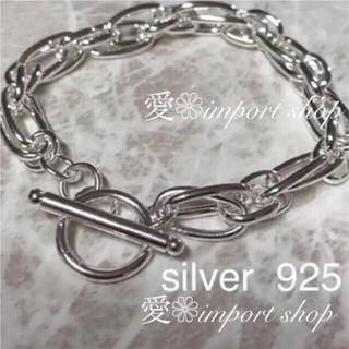 TODAYFUL - 【silver925 】チェーンブレス / シルバーブレス