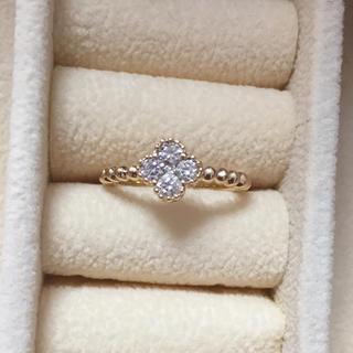 k18 0.25 ダイヤモンドみるうちリング 5号(リング(指輪))
