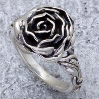 ソカロ(ZOCALO)のソカロ ZOCAL 薔薇 ローズ リング シルバー950使用 レア(リング(指輪))