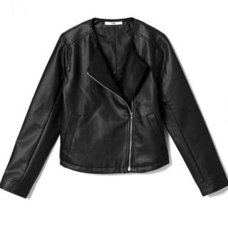 GRL - 合皮 ライダースジャケット