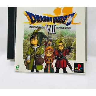 プレイステーション(PlayStation)の【中古品】Dragon quest Ⅶ エデンの戦士たち(携帯用ゲームソフト)