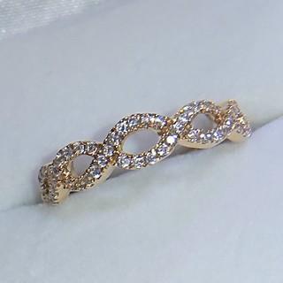 agete - ベルシオラ リング k18 ダイヤ ダイヤモンド エタニティ