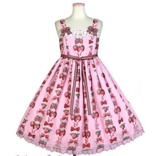 Angelic Pretty - 新品未使用❤︎Strawberry doll ジャンパースカート ピンク