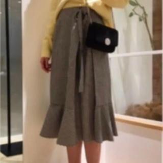 Mila Owen - 【送込】ミラオーウェン ギンガムチェックフリルスカート スナイデル ノエラ