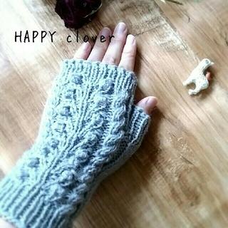 〘 再販〙ハンドウォーマー シルバーグレー(手袋)