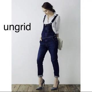 Ungrid - ungrid インディゴデニムサロペット