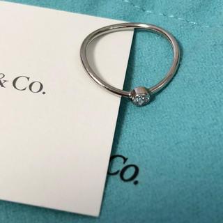 ティファニー(Tiffany & Co.)のlino様♡ティファニー♡ウェーブシングルロウ プラチナ(リング(指輪))