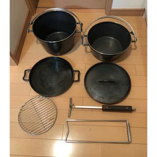 ユニフレーム(UNIFLAME)のユニフレーム  10インチ ウルトラディープ カスタムリッド(調理器具)