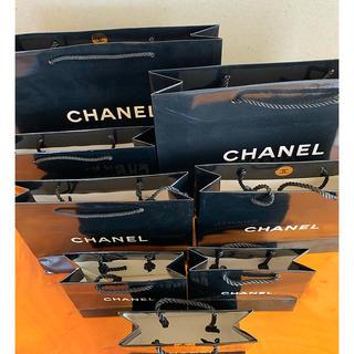 CHANEL - シャネル ショップ袋 ブラック8点