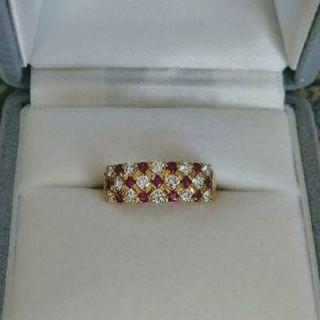 専用✨高品質✨ルビー&ダイヤモンドリング(リング(指輪))