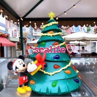Disney - 香港ディズニー❣️新作✨クリスマス ポップコーンケース ミッキー ♡