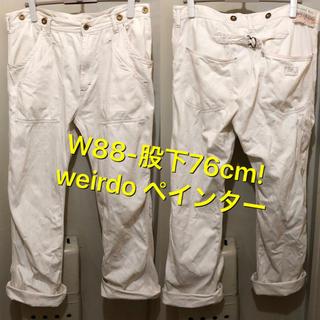 WIRED - 大きめW88-股下76cm!日本製weirdoウィアード   古着ペインターワー