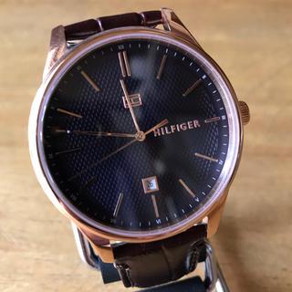トミーヒルフィガー(TOMMY HILFIGER)の新品✨トミーヒルフィガー 腕時計 メンズ 1791493 ブラウン(腕時計(アナログ))