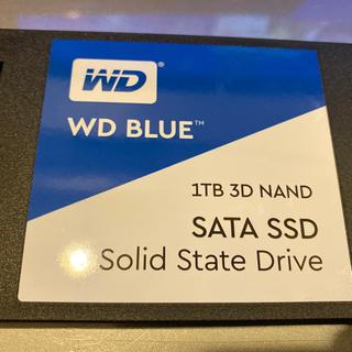 ウエスタンエディション(Western Edition)のWD 内蔵 SSD  1TB  / SATA3.0 / WDS100T2B0A(PC周辺機器)