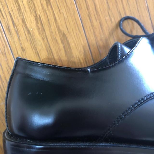 Constancy ブラック ビジネシューズ 24.5 メンズの靴/シューズ(ドレス/ビジネス)の商品写真