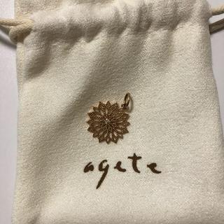 アガット(agete)の【週末お値下げ】アガットクラシック k10 チャーム(チャーム)