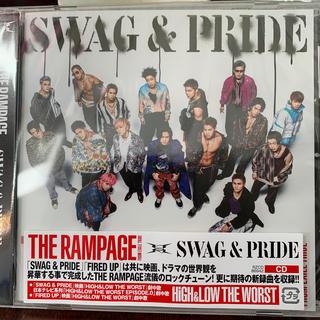 ザランページ(THE RAMPAGE)のSWAG & PRIDE新品、未開封(ポップス/ロック(邦楽))