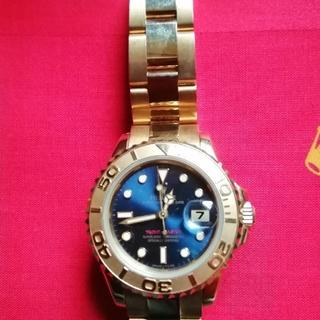 ロレックス(ROLEX)のROLEX YACHT−MASTER 18KYG金無垢レディース自動巻き腕時計(腕時計)