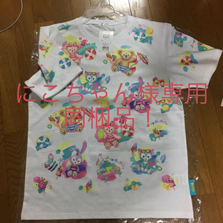 Disney - 未使用タグ付き ダッフィー フレンズのTシャツ