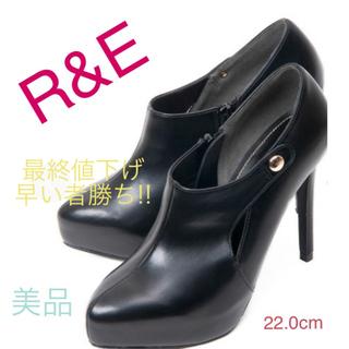 アールアンドイー(R&E)のR&E♡♡ショートブーツ 限定商品(ブーツ)