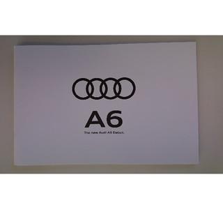 アウディ(AUDI)のアウディA6  カタログ(カタログ/マニュアル)