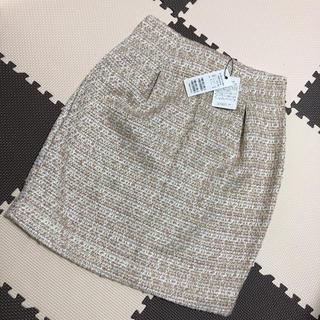 ミーア(MIIA)の新品タグ付き! ツイードタイトスカート(ミニスカート)