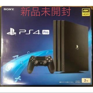 PlayStation4 - PS4 Pro 2TB ジェットブラック