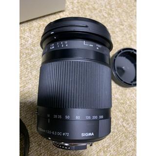 SIGMA - SIGMA 高倍率ズームレンズ  18-300mm F3.5-6.3 DC