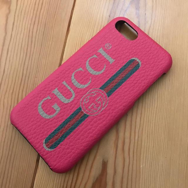 Gucci - GUCCI 革製iPhoneケース 正規品  値下げしました!の通販