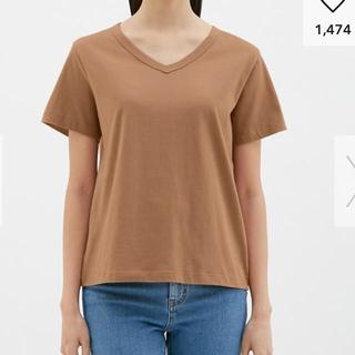 ジーユー(GU)のジーユー トップス  (Tシャツ(半袖/袖なし))