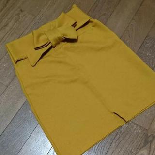 アンズ(ANZU)のANZU フロントリボン スカート(ミニスカート)