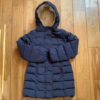 プチバトー(PETIT BATEAU)のプチバトー ダウンコート 8歳128cm 女の子用(コート)