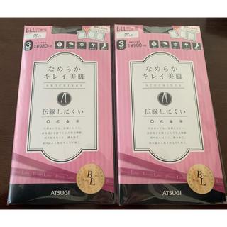 Atsugi - なめらかキレイ美脚(3足組)×2袋