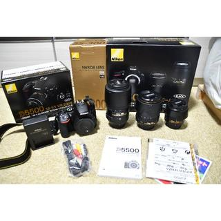 Nikon - ニコンD5500 ダブルズームキット+NIKKOR 18-105mm