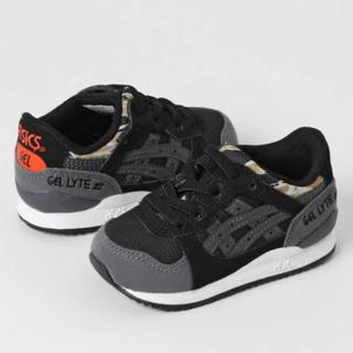 アシックス(asics)のアシックス 靴 子供用 ほぼ未使用(スニーカー)
