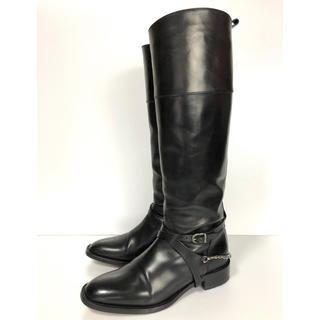サルトル(SARTORE)の37.5 SARTORE サルトル 2way ロングブーツ  黒 24.5(ブーツ)