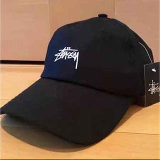 STUSSY - stussy キャップ STUSSY ステューシー ブラック