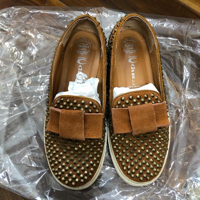 JEFFREY CAMPBELL(ジェフリーキャンベル)のJeffrey Campbell ローファー38 レディースの靴/シューズ(ローファー/革靴)の商品写真