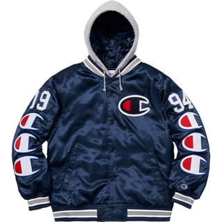 Supreme - Supreme x Champion Jacket 紺 M
