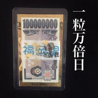 一粒万倍日完成 純金1億円札 白蛇 抜け殻 打出の小槌  金箔 金運お守り