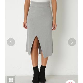 スライ(SLY)のSLY ニット スカート(ひざ丈スカート)
