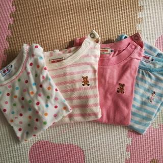 ミキハウス(mikihouse)のミキハウス 長袖Tシャツ 80(シャツ/カットソー)